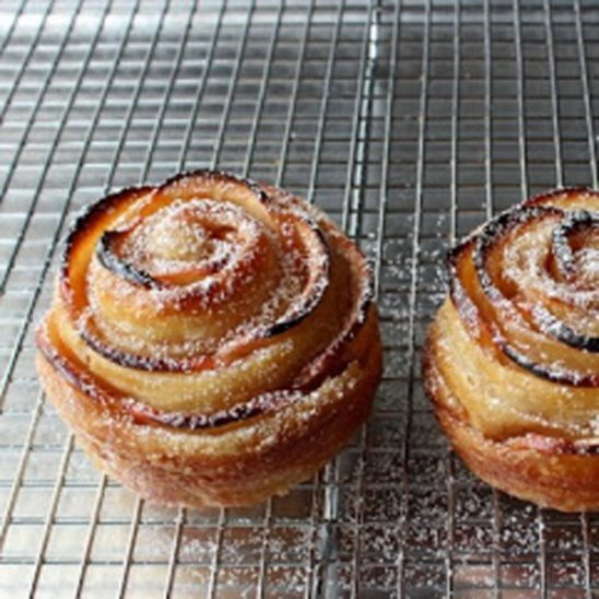 Розы из печеного яблока - другое имя и совсем другой рецепт!