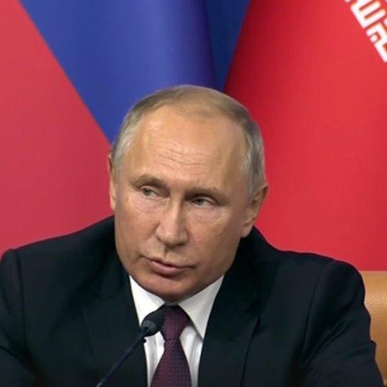 Обращение Владимира Путина к террористам