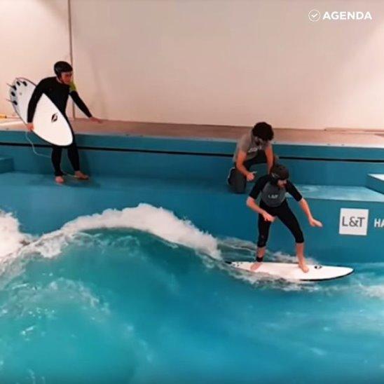 Сёрфинг в торговом центре