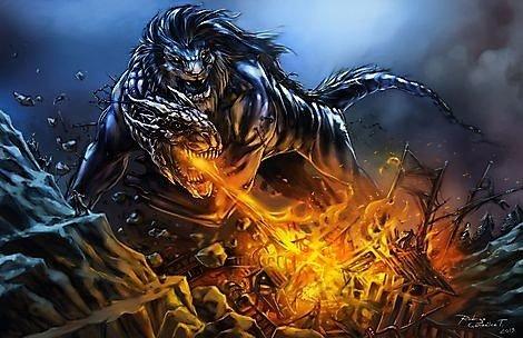 Огромное чудовище атаковало иудеев. О погибших не сообщается.