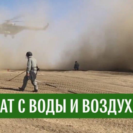 Учения морпехов и военной авиации