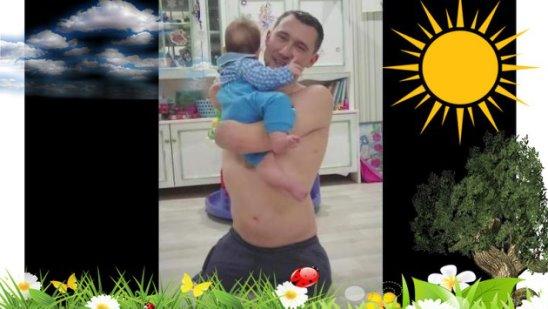 И на Марсе будут НАШИ яблони цвести! )) ☀ ~~~ Алексей Талай со самым младшим сыном Ярославом ~