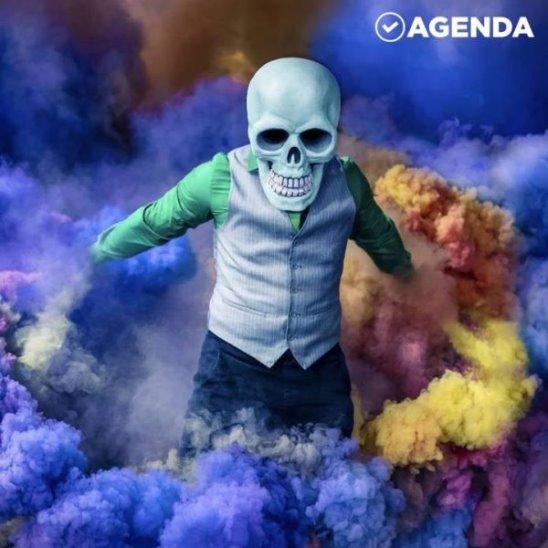 Маски-шоу Skeleton of Color