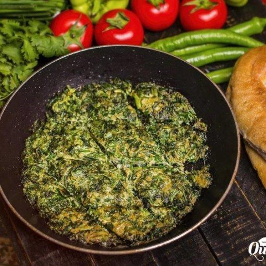 Кюкю (омлет с зеленью) Азербайджанская Кухня:)