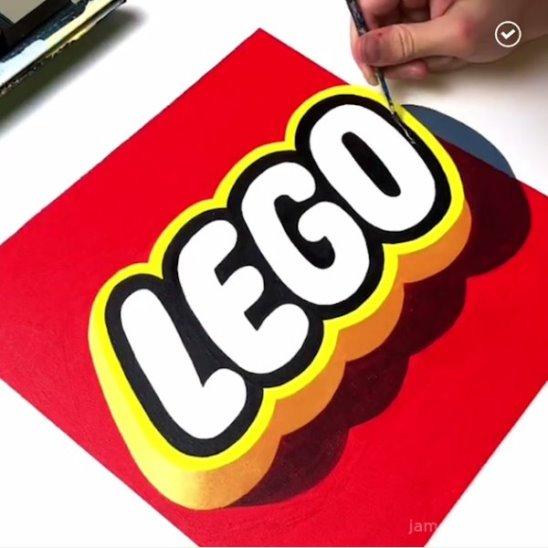 Потрясающие трёхмерные логотипы