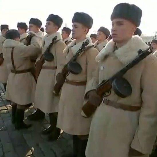 Репетиция парада защитников Москвы