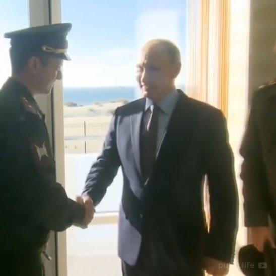 Владимир Путин в Анапе