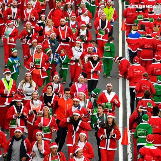 Забег 7000 Санта-Клаусов