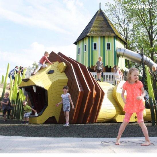 Детские площадки будущего