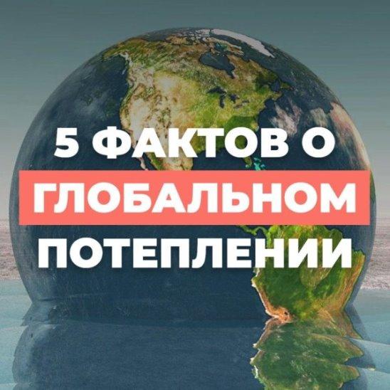 5 фактов о глобальном потеплении
