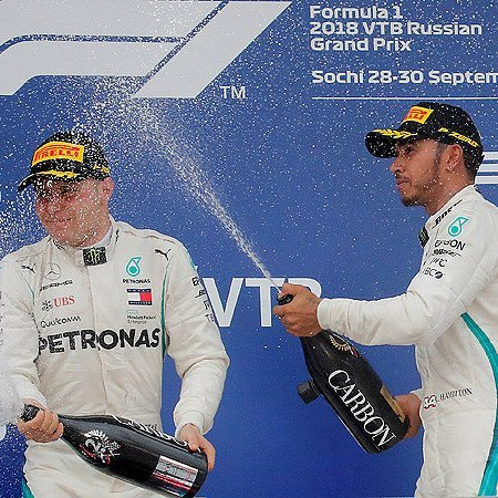 Российский этап Гран-при «Формулы-1» в Сочи