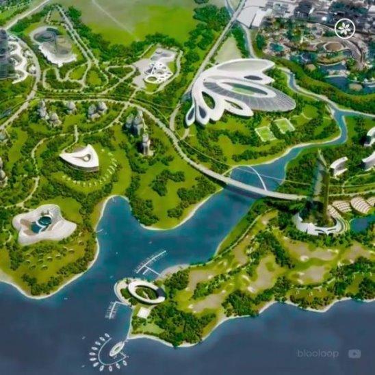 Elysium City: европейский город будущего