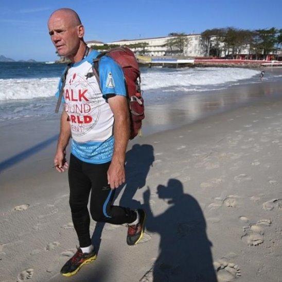 Путешественник обошёл Землю пешком за 2 года