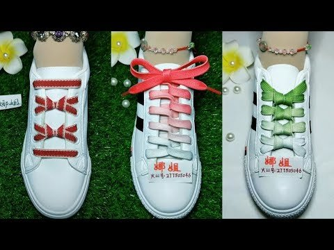 20 Creative Ways to fasten Shoelaces - Cool ideas how to tie shoe laces #2