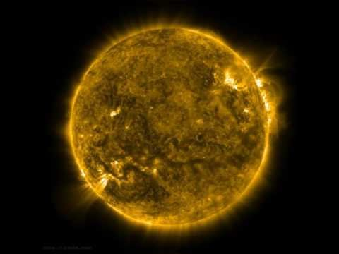 NASA's Solar Dynamic Observatory (SDO) view of the Sun as spacecraft does a 360-degree roll