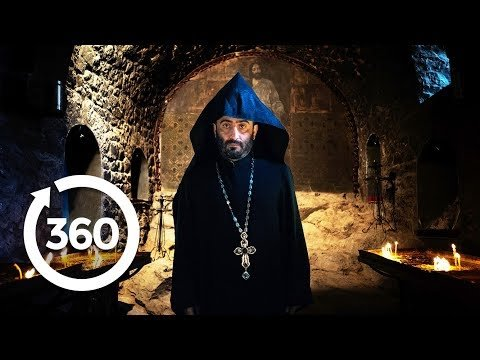Descend Into a Holy Dungeon   Yerevan, Armenia 360 VR Video   Discovery TRVLR
