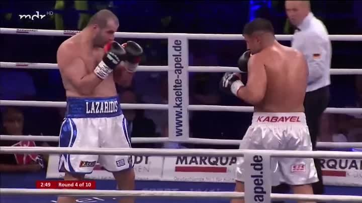 Агит Кабайел — Евгениос Лазаридис / Agit Kabayel vs. Evgenios Lazaridis