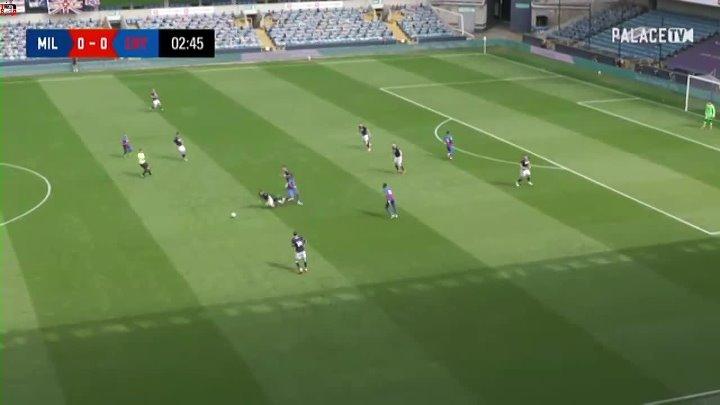 Millwall 0 - 1 Crystal Palace