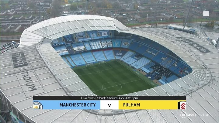 Manchester City vs Fulham –  & Full Match