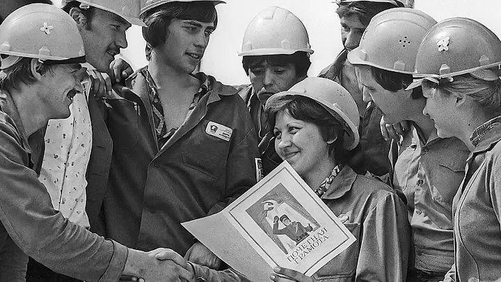 Как трудились и отдыхали советские люди в СССР