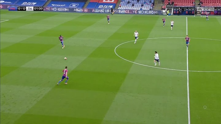 Crystal Palace 1 - 1 Tottenham Hotspur