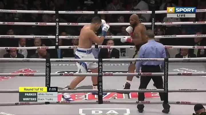 Джозеф Паркер - Шонделл Уинтерс / Joseph Parker vs. Shawndell Winters