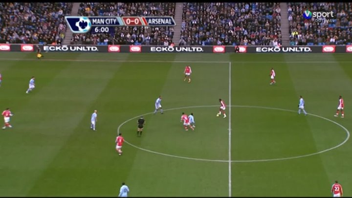 EPL Classic Match – Man City v Arsenal – 22nd November 2008