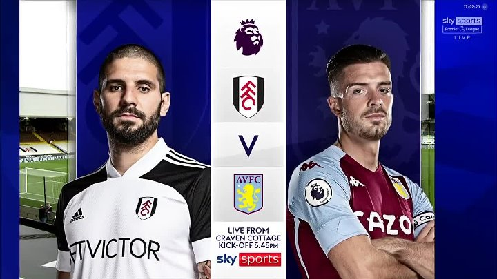 Fulham vs Aston Villa –  & Full Match