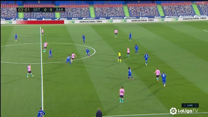 Getafe vs Barcelona –  & Full Match