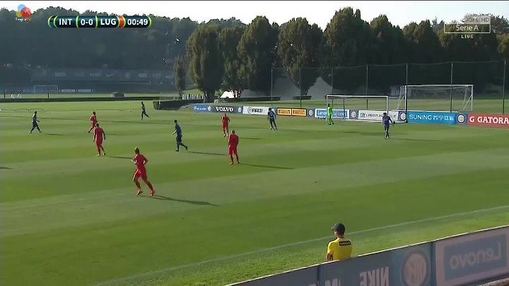 Inter Milan 5 - 0 Lugano