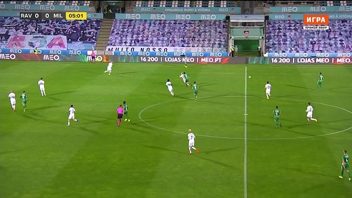 Rio Ave vs Milan –  & Full Match