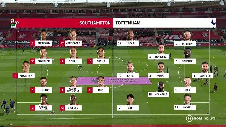 Southampton vs Tottenham Hotspur –  & Full Match