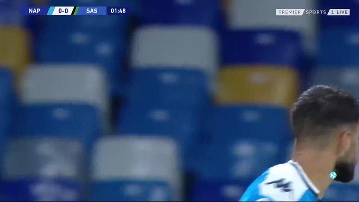 Napoli 2 - 0 Sassuolo