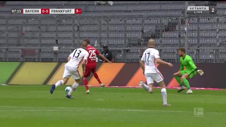 Bayern Munich Eintracht  Frankfurt Goals And Highlights