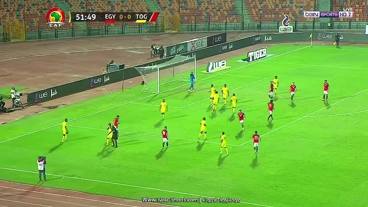 Egypt Togo Goals And Highlights