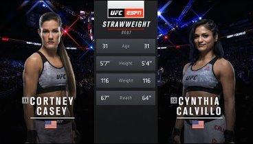 Cynthia Calvillo vs. Cortney Casey / Cинтия Калвилло – Кортни Кейси