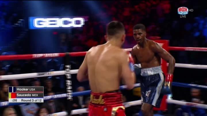 Maurice Hooker vs. Alex Saucedo / Морис Хукер - Алекс Сауседо