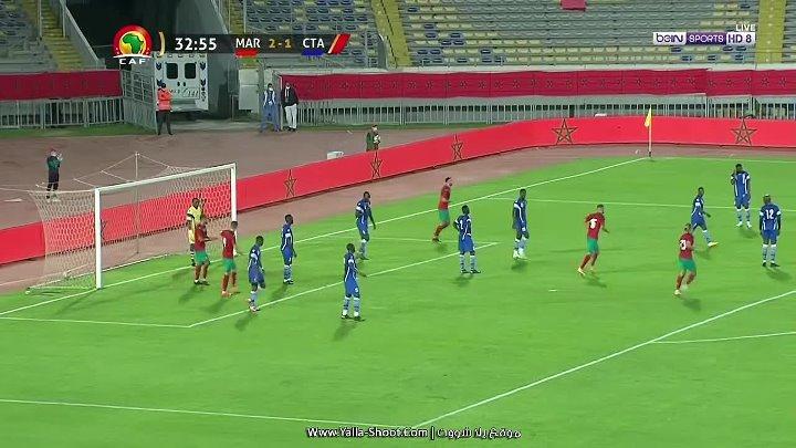 Morocco CAR Match Highlights
