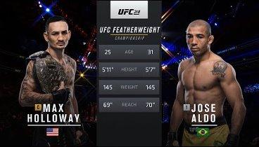 Макс Холлоуэй - Жозе Алдо II / Holloway vs. Aldo 2 – Video