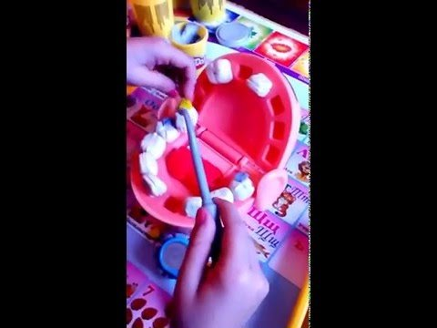 Мистер Зубастик. Play-doh. DR. DRILL 'N FILL . Myster Critters. Doktor DRILL