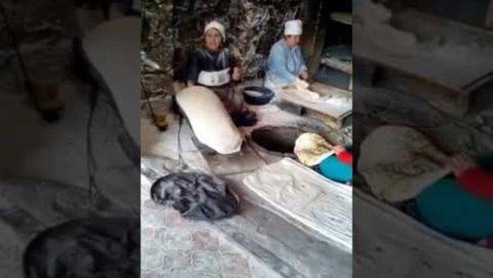 Виртуозы лавашных пекарей (Лусакерт-Армения)