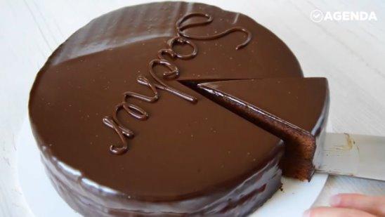 Шоколадный австрийский торт «Захер»
