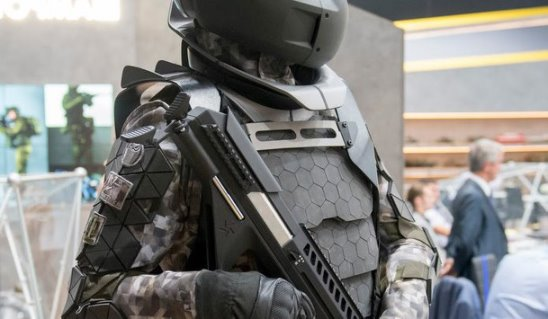 Экипировка солдат будущего