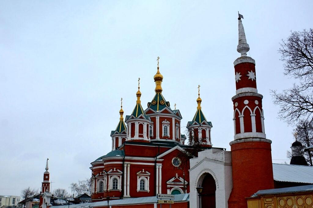 Как это было: Остановлено падение одной из башен Успенского женского монастыря #kolomnareplay