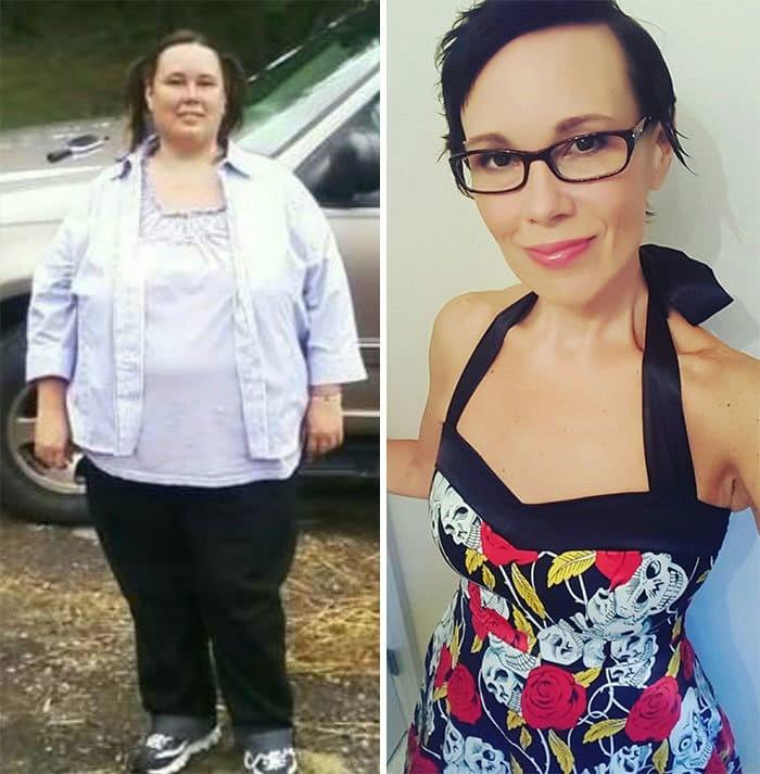 Прикольные картинки до и после похудения, доброе