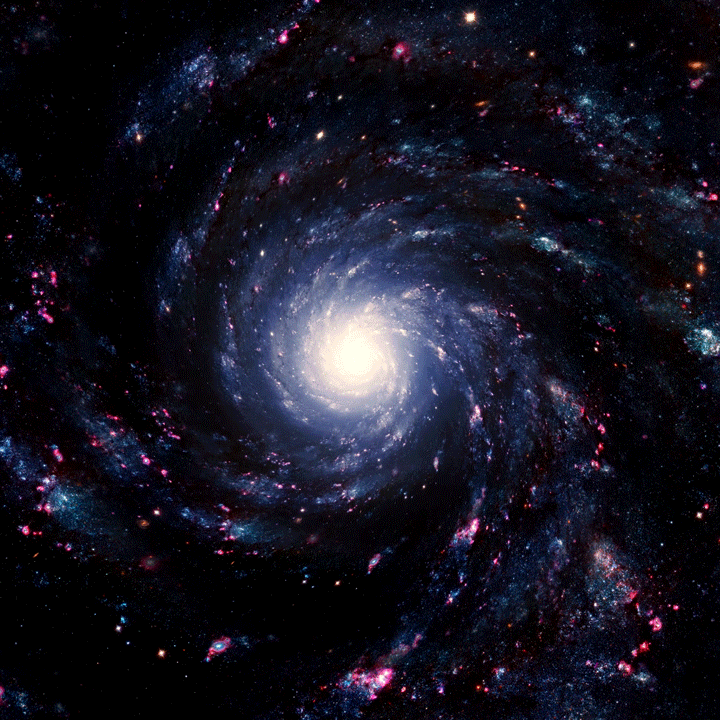 Картинки мерцающие вселенная