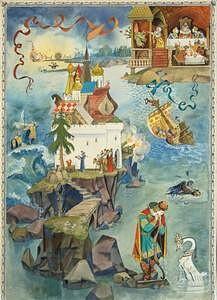 Панно. «Сказка о о царе Салтане» А.С. Пушкина