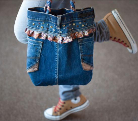 eb95ff14a511 Любимые джинсы протерлись до дыр, а рука не поднимается их выбросить? В них  может быть дорого все что угодно: стильные карманы, красивые декоративные  ...