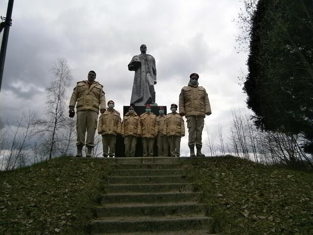 Партизанскими тропами бригады им. Чапаева
