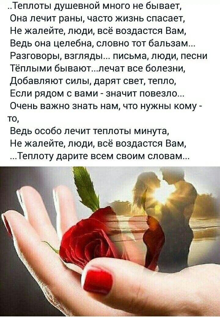 красота и теплота общения картинки цитаты